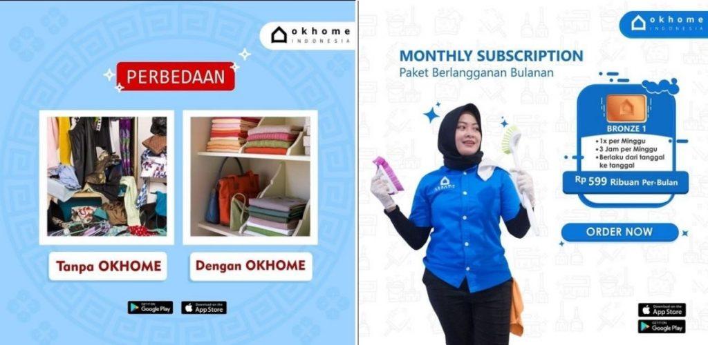 Jakarta Cleaning Service Termurah untuk Rumah Hunian OKHOME